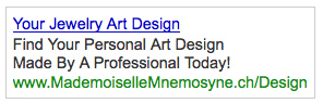Great PPC Ad Copy Example